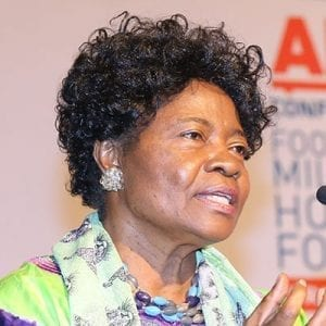 Ruth Oniang'o – Professor of Food & Nutrition and Chair of Board Sasakawa Africa